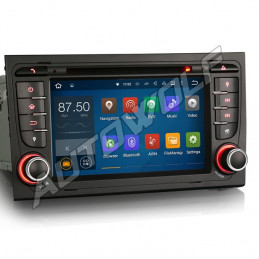 AW3188A Audi A4 7 inch Android navigatie, multimedia car pc met DAB