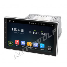 AW7711U 2DIN 10.1 inch Android navigation, multimedia, car pc DAB+