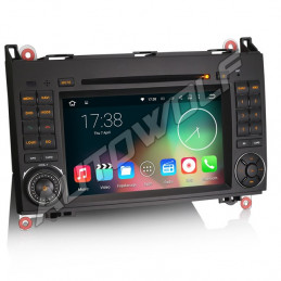 AW9688B Mercedes 7 inch Android navigatie, multimedia car pc