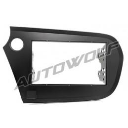 2 DIN paneel Honda insight naar ISO AW-HO31