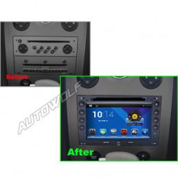 AW8691M Renault Megane 7 inch Android autoradio navigatie, multimedia car pc met DAB