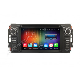 AW5066J Jeep Dodge Chrysler Android navigatie, multimedia car pc met DAB