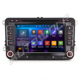 AW9348V VW 2DIN 7 inch Android navigatie, multimedia car pc met DAB