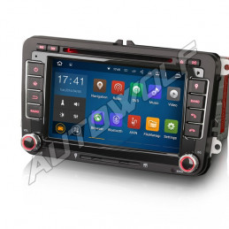 AW9348V VW 2DIN 7 inch Android navigation, multimedia, car pc DAB