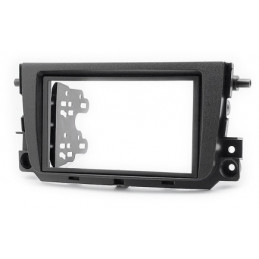2 DIN panel Smart ForTwo to ISO