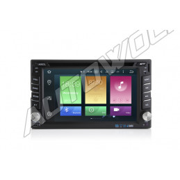 AW5620N 2DIN  Android navigatie, multimedia car pc met DAB+, octa-core 2GB