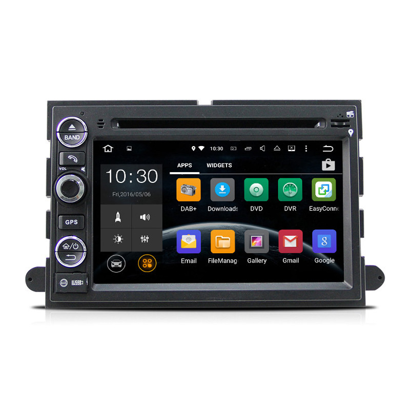AW9302A 7 inch Android navigatie voor Ford, multimedia car pc