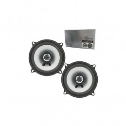 Rocx 2 way speaker 130mm 80w set