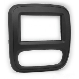 2 DIN panel for Opel Renault to ISO, vivaro, trafic
