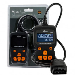 Vgate VS890S OBD2 manual scanner EN