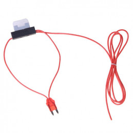 12V connection cable with 10 amp fuse +15 cable