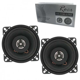 Rocx 2 way speaker 100mm 80w set
