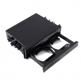 1DIN box with cup holder