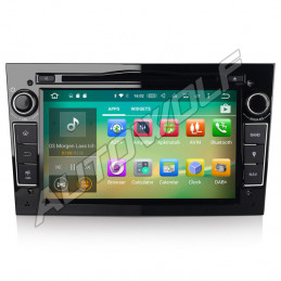 AW3360PS2 7 inch Android navigation for Opel, multimedia car pc DAB octa-core 2gb 32GB