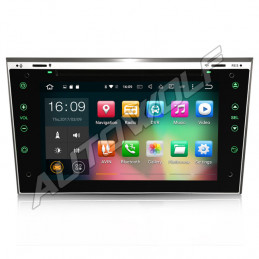 AW30817 7 inch Android navigation for Opel, multimedia car pc DAB octa-core 2gb 32GB