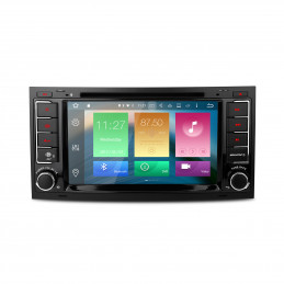2DIN 7 inch Android navigatie, multimedia car pc met DAB, 2GB ram 32gb opslag voor touareg