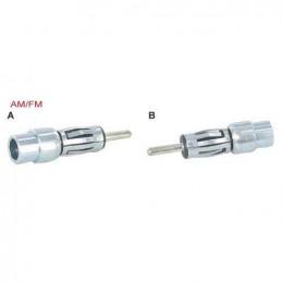 Radio antenna adaptor to din female mini din male