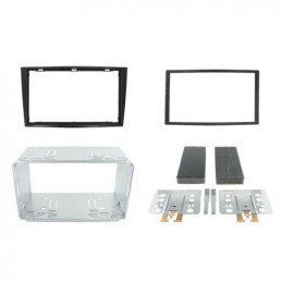 2 DIN panel Opel Corsa to ISO piano black