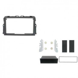 2 DIN panel for Opel Renault Nissan to ISO, vivaro, trafic, primastar