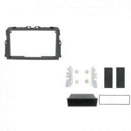 2 DIN panel for Opel Renault Nissan to ISO, vivaro, trafic, primastar