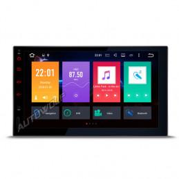 2DIN 7 inch Android 8 navigatie, dab met een octacore processor en 4gb met android 8