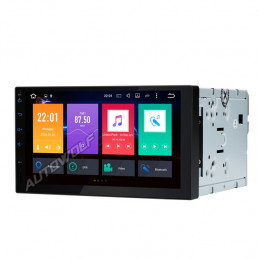 2DIN 7 inch Android 8 navigation, dab with an octacore processor and 4gb with android 8