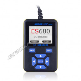 E-Scan ES680 VW, Audi, Seat, Skoda and OBD2 vehicles