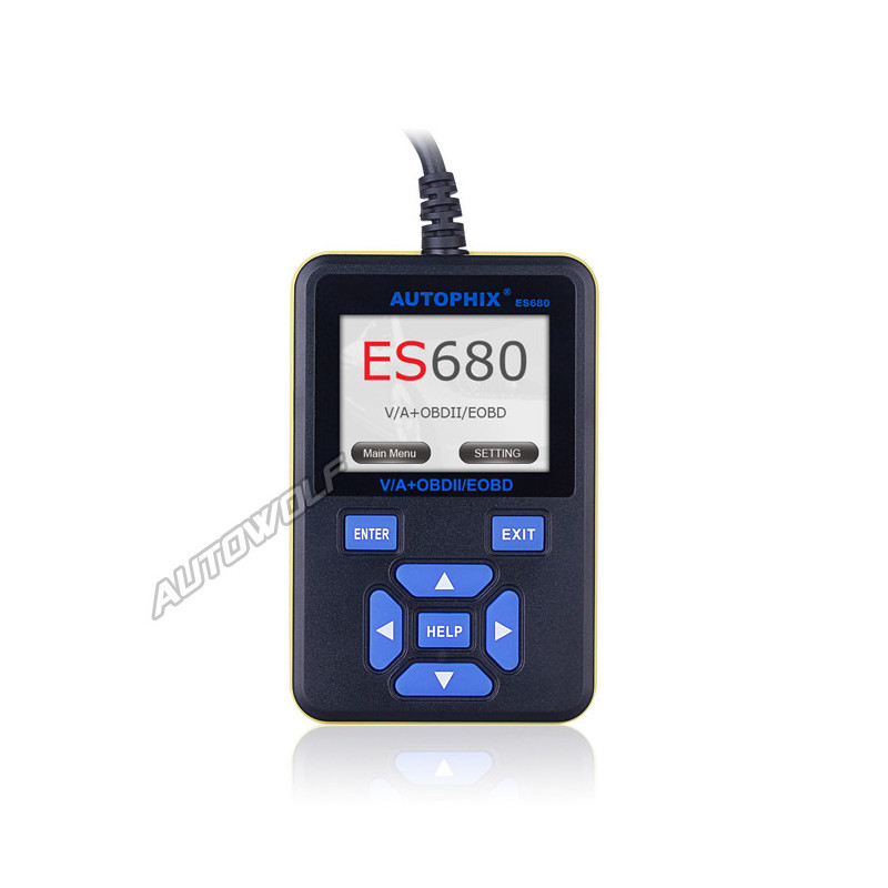 E-Scan ES680 voor VW, Audi, Seat, Skoda en OBD2 voertuigen