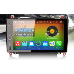 AW9218S 9 inch Android 8 navigation for Mercedes, multimedia car pc, octa core, 2GB ram, 32GB Rom