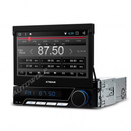 D771A 1DIN 7 inch klapscherm Android car radio with octa-core processor and 2gb of ram