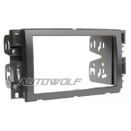 2 DIN paneel voor Chevrolet, Buick, GMC, Hummer, Pontiac, Saturn en Suzuki