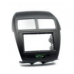 2 DIN paneel Mitsubishi ASX peugeot 4008, c4 aircross, outlander sport naar ISO
