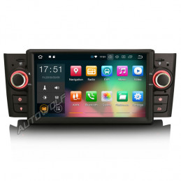 Fiat Grande Punto 7 inch Android navigatie, multimedia car pc met dvd octa-core 4gb ram android 8