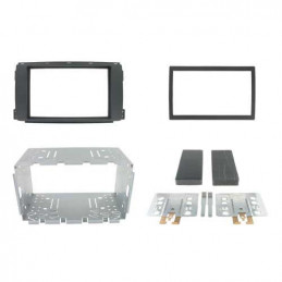 2 DIN panel Smart For Four and For Two to ISO