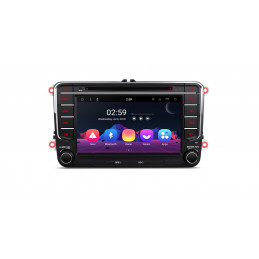 PR78MTV 7 inch Android 8.1 navigation, multimedia car pc with DAB, car kit and wi-fi, octa-core processor