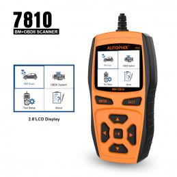 7810 voor BMW / Mini / Rolls-Royce OBD2/EOBD handscanner