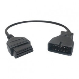 GM 12 pin to 16 pin OBD2
