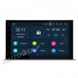 2-DIN 7 inch Android 9...