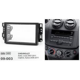 The 2-DIN panel, Chevrolet...
