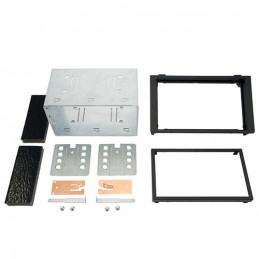 The 2-DIN panel, Saab 9-3 ISO
