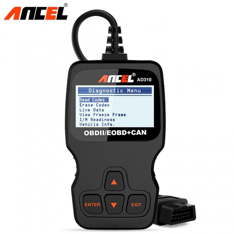 AD310 ancel obd2 manual scanner autowolf