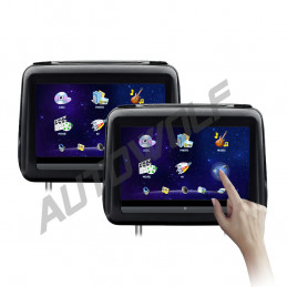 10.1 inches headrest dvd player with touchscreen