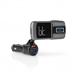 fm transmitter met bluetooth 5 handsfree carkit functie