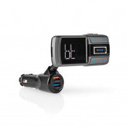fm transmitter with bluetooth 5 handsfree carkit function
