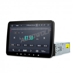 AW7755US 1DIN 10.1 inch...